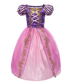 Rapunzel costume girl dress